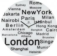 Designové nástěnné hodiny 14868 Lowell 38cm