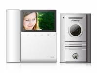 """CDV-43K+DRC-40K Commax - sada videotelefonu a dveřní stanice s 4,3"""" LCD displejem a kamerové jednotky s 1 tlačítkem"""