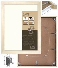 Rámovací BOX - Topol přírodní 2
