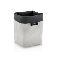 Košík na kosmetiku ARA 9x9cm šedý/pískový
