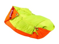 Sedací pytel BeanBag duo-fluo orange-fluo limet