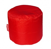 Červený sedací vak BeanBag Roller