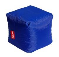 Tmavě modrý sedací vak BeanBag Cube