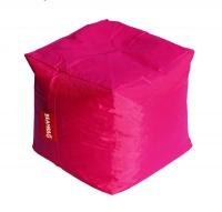 Růžový sedací vak BeanBag Cube