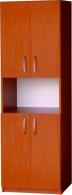 Regál se skříňkami REG 4D