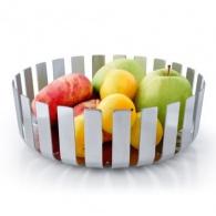Moderní mísa na ovoce GUSTO, nerez, mat