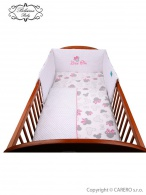 2-dielne posteľné obliečky Belisima Myška s mašličkou 90/120 ružové BELISIMA