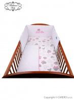 2-dielne posteľné obliečky Belisima Myška s mašličkou 100/135 ružové BELISIMA