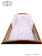 2-dielne posteľné obliečky Belisima Little Man 100/135 sivé BELISIMA