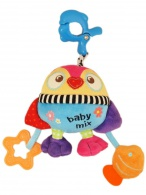 Plyšová hračka s hracím strojčekom Baby Mix Tučniak BABY MIX