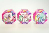 My Little Ponny průhledný poník s třpytkami a doplňkem