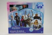 Puzzle pěnové Frozen 25 dílků