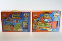 Pěnové puzzle - Dino a Moře - 28 dílků