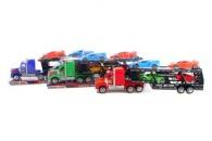 Kamion s autíčky