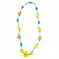 Dětský dřevěný náhrdelník, měsíc