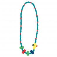 Dětský dřevěný náhrdelník, drak