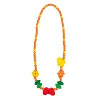 Dětský dřevěný náhrdelník, motýlek