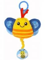 Plyšová hračka s melódiou Baby Mix včielka BABY MIX