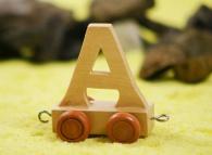 Vagónek A, hnědá kolečka