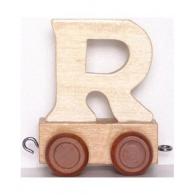 Vagónek R, hnědá kolečka