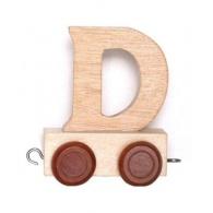 Vagónek D, hnědá kolečka
