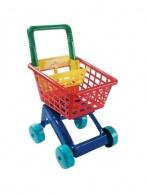 Detský nákupný košík - tyrkysový DOHANY