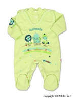 2-dielna súprava New Baby Zvieratká zelená NEW BABY