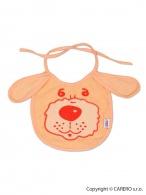 Detský podbradník New Baby oranžový NEW BABY