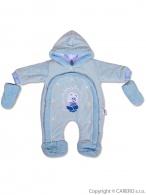 Detská kombinéza New Baby ježko modrá NEW BABY
