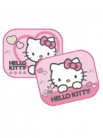 Tienidlá do auta 2 ks v balení Disney Hello Kitty KAUFMANN
