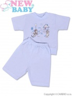 Detské letné pyžamo New Baby modré NEW BABY