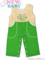 Detské lacláčky New Baby Happy zelené NEW BABY