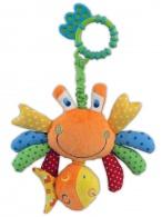 Plyšová hračka s vibráciou Baby Mix krab BABY MIX