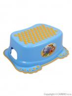 Detské protišmykové stúpadlo do kúpeľne modre TEGA