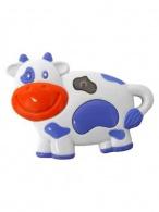 Detská hračka so zvukom Baby Mix kravička BABY MIX