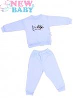 Detské froté pyžamo New Baby modré NEW BABY