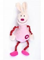 Edukačná plyšová hračka Sensillo králiček s pískatkom SENSILLO