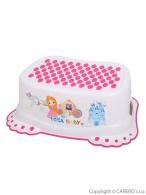Detské protišmykové stúpadlo do kúpeľne Malá Princezná biele TEGA