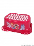 Detské protišmykové stúpadlo do kúpeľne Malá Princezná ružové TEGA