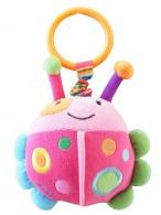 Detská plyšová hračka s vibráciou Baby Mix lienka BABY MIX