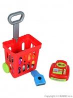 Detský nákupný košík s príslušenstvom Bayo 27 ks BAYO