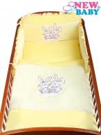 2-dielne posteľné obliečky New Baby Bunnies 100x135 žlté NEW BABY
