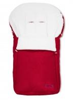 Fusak Womar - fleece tmavo červený WOMAR