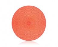 BANQUET PP prostírání kruhové 38 cm Peach