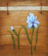 Obraz - Dva modré květy