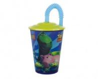 Pohárek 450ml s víčkem, Toy Story L