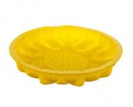 Silikonová forma na koláč 26cm žlutá Sildo