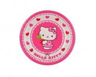 Talíř papírový dia 19,5cm, 8KS Hello Kitty