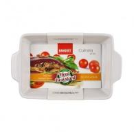 BANQUET Zapékací forma obdélníková 24x14,5cm Culinaria White