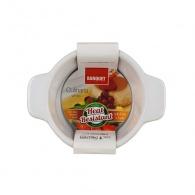BANQUET Zapékací forma kulatá 11x8,5cm Culinaria White